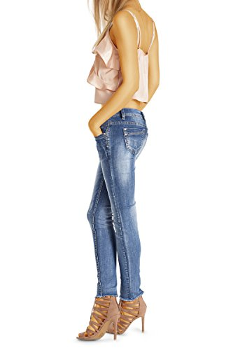 Blau Donna Bestyledberlin Skinny Bestyledberlin Jeans Jeans wBngxq7Zf