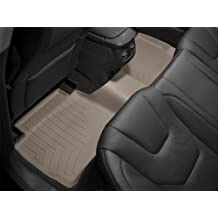 WeatherTech Custom Fit Rear FloorLiner for Dodge Ram 1500 Crew Cab, Tan