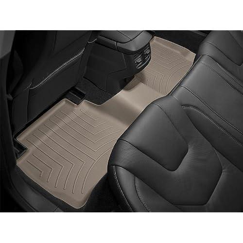 WeatherTech Custom Fit Rear FloorLiner For Dodge Ram Mega Cab, Tan