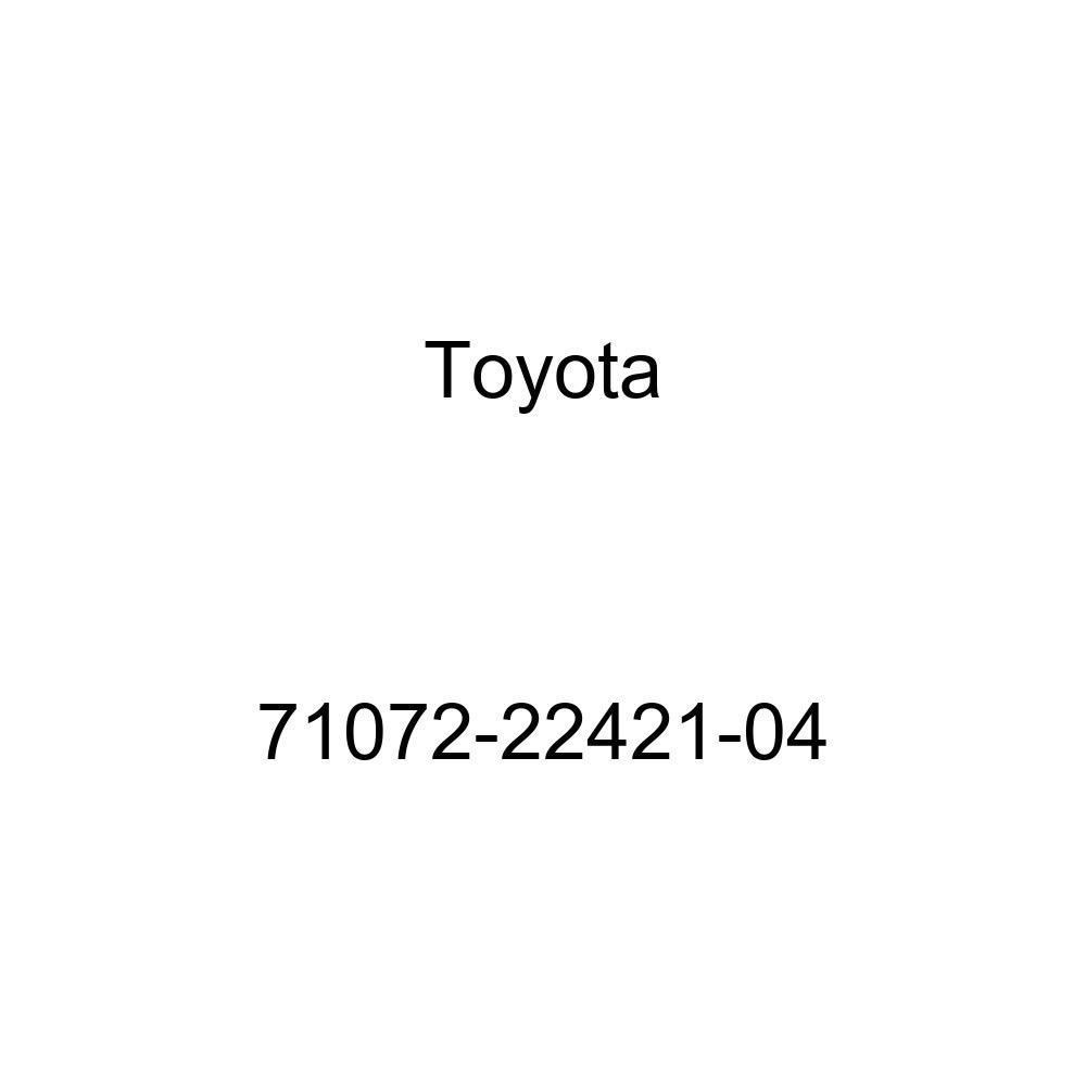 TOYOTA Genuine 71072-22421-04 Seat Cushion Cover
