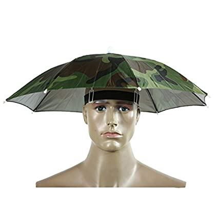 62d8f457678 Umbrella Hat - Head Umbrella - Umbrella Hat For Adults - Foldable Umbrella  Hat Cap Headwear