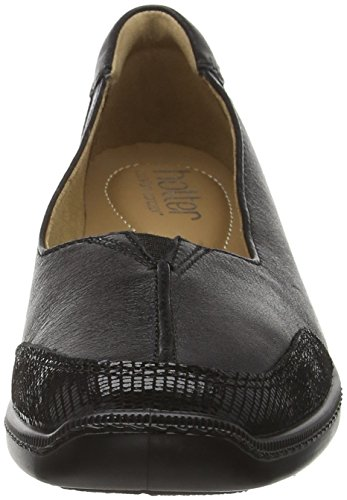 Hotter Women's Gillian Boat Shoes Black (Black-black Snake) fast delivery online vrsxsUA