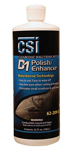 CSI D1 Polish/Enhancer Quart 62-209-Quart car Polish Developed to take polishing to 4K Results in Clarity, Depth, and Gloss.
