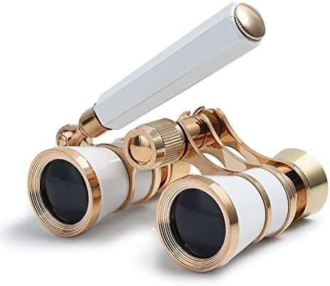 Uarter Opera Glasses Theater Vintage Binoculars With Handle