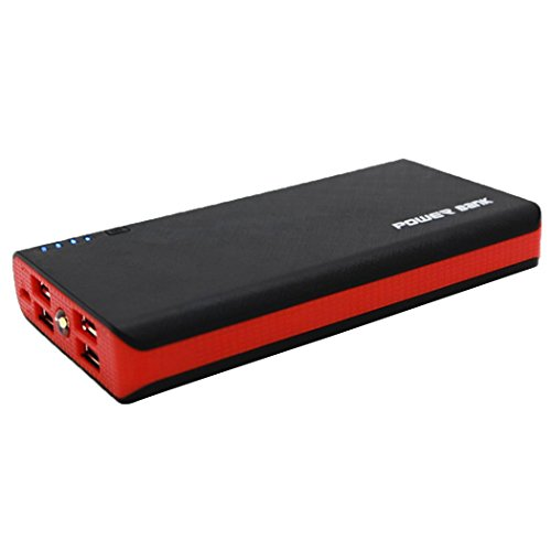 Tiowea Max Capacity 20000mAH Charge Shell 4 USB Power Bank Case 4x18650 Battery Charger Box Case Kit for Phone Charging Stations