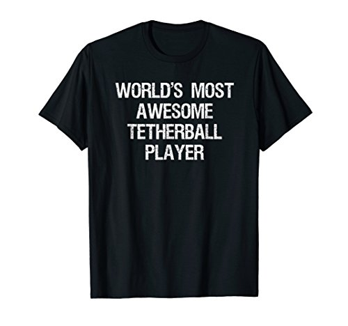White Anchor Cap Chain (Tetherball T-shirt - Funny Awesome Tetherball Player Ever)