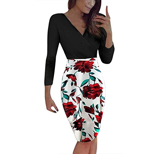 - Dresses for Womens, FORUU Ladies 2018 Winter Sale Christmas Thanksgiving Friday Monday Under 10 Best Gift for Her Boho Print Maxi Summer Beach Cocktail Evening Party Long Sundress