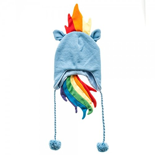 bioWorld My Little Pony Rainbow Dash Laplander Fleece Cap Beanie -