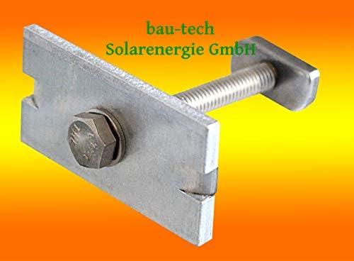 20 Modul Mittelklemmen 30mm von bau-tech Solarenergie