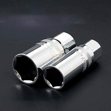 SUPERTOOL Deep Drive Socket 50MM 1//4 Square Drive Socket Fully Polished Long Reach Socket Metric 2PCS 4.5mm