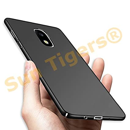 size 40 8e217 b9458 Samsung Galaxy J7 PRO/Back Cover, Dcent 4 Cut All Sides Protection Sleek  Hard Case Back Cover for Samsung Galaxy J7 PRO Black by Sun Tigers®