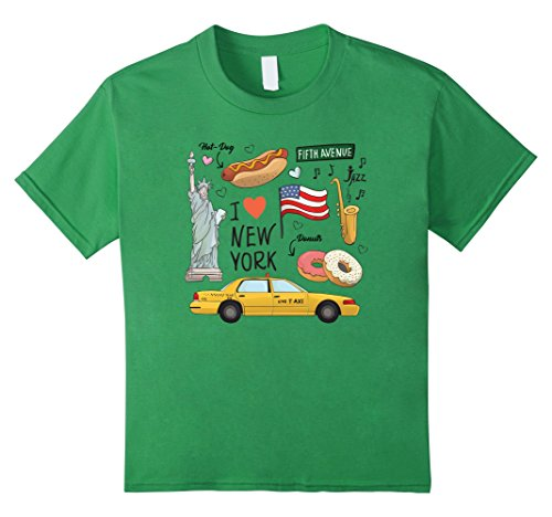 Kids I love New York Tourist Gift Souvenir Tee Shirt 6 - York Avenue Americas The Of New