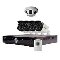 REVO America Aero HD Video Security Complete Surveillance System, Black (RA81CBNDL1)