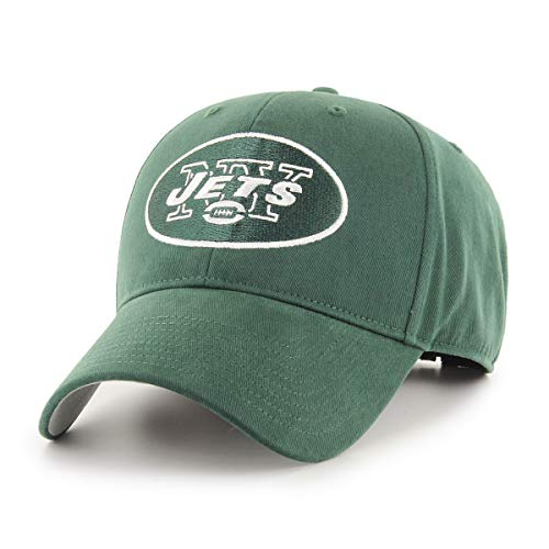 (NFL New York Jets Children Cinch Ots All-Star MVP Adjustable Hat, Kids, Dark Green)