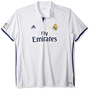International Soccer Real Madrid Men's Jersey, XX-Large, White/Purple