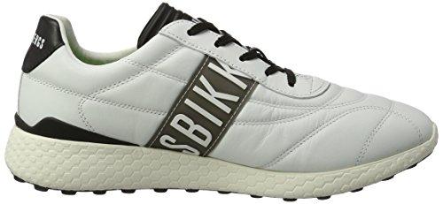 Bikkembergs  Strik-er 895, Sneakers basses homme - Bleu ( Bleu / Gris) , 41 EU EU