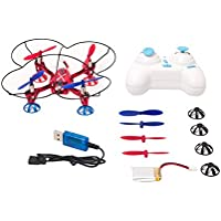 WL Toys 2.4G 4Ch 6-Axis RC Quadcopter RTF, Red Color