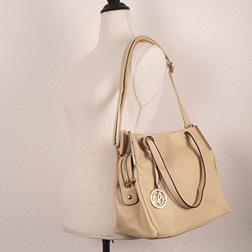 Polyester White Shoulder White Moonbow Woman Bag OwpfpA
