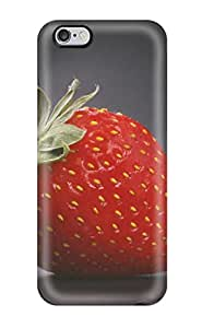Waterdrop Snap-on Strawberry Case For Iphone 6 Plus