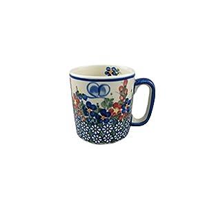 Boleslawiec Style Pottery Hand Painted Polish Ceramic Kubas Mug 055-A-001