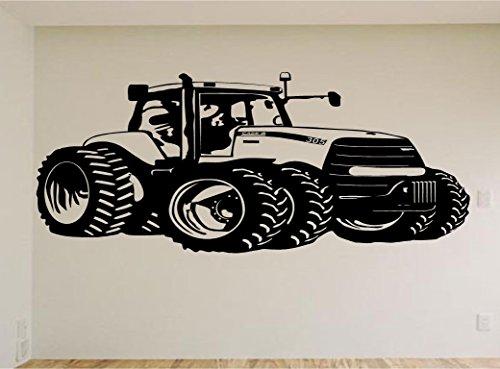 Case John Deere Farm Tractor Car Auto Wall Decal Stickers Murals Boys Room Man Cave