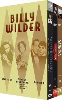 The Billy Wilder DVD Collection (Stalag 17 Special Collector's Edition / Sunset Boulevard / Sabrina - Box Set Billy Wilder