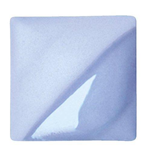 AMACO Velvet Lead-Free Non-Toxic Semi-Translucent Underglaze, 1 pt Jar, Baby Blue V-325