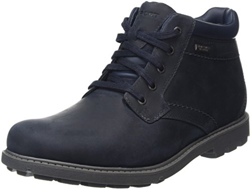 Rockport Rugged Bucks Waterproof Boot, Botas para Hombre Azul (New Dress Blue)