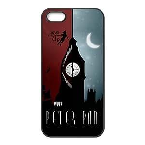 Case for iPhone 5s,Cover for iPhone 5s,Case for iPhone 5,Hard Case for iPhone 5s,Cover for iPhone 5,Peter Pan Design TPU Hard Case for Apple iPhone 5 5S by icecream design
