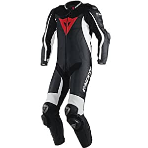 Dainese D-Air Misano Perforated Race Suit Black / White Size Euro 56
