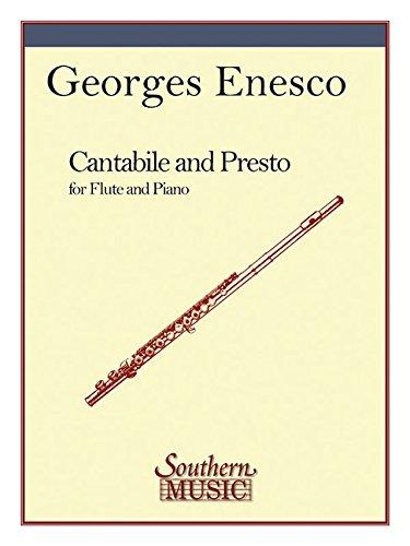 Cantabile and Presto: Flute - Cantabile Flute