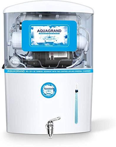 8e7901f8cfc Aqua Grand+ 17 Litres RO UV UF TDS Water Purifier (White)  Amazon.in  Home    Kitchen