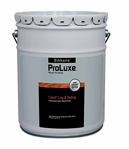 Wood Siding Stain - Cetol Log & Siding 5 Gallons Natural