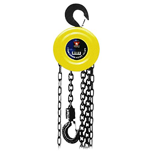 Neiko 1-1/2 Ton Chain Hoist, 20 ft lift
