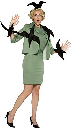 Alfred Hitchcock Halloween (Adult When Birds Attack Costume Size: Standard)