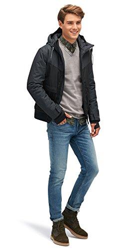 Gris Homme Winter Veste Tailor Denim Tom Blouson EW4XYqwqv