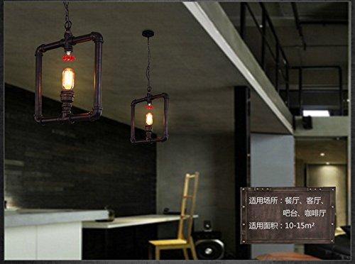 Lampadario Plafoniera Rustico Ferro Battuto : Shengye stile rustico plafoniera lampada a sospensione loft