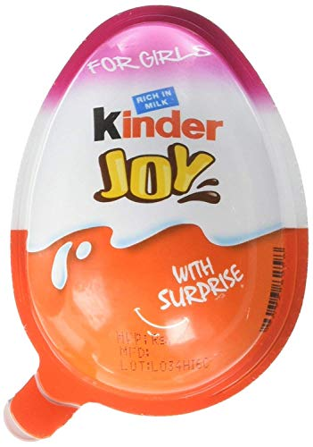Kinder Joy With Surprise Inside - (GIRLS Display W/ 16 Units) -