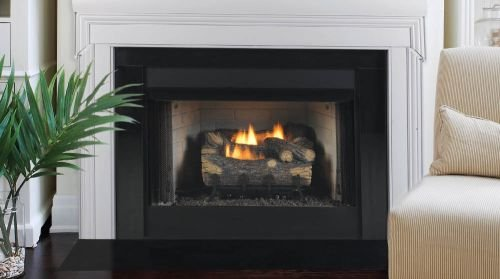 Monessen Gruf42c-f 42-inch Radiant Face Circulating Vent-free Firebox With Cottage Clay Firebrick by Monessen