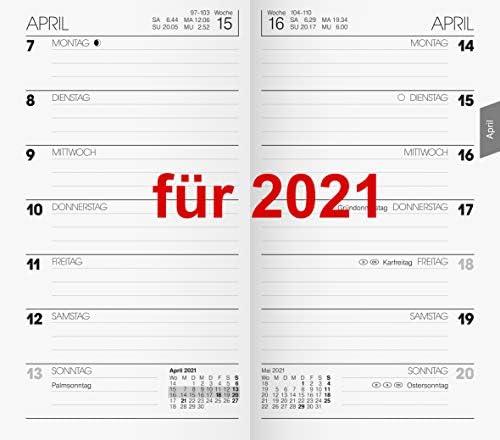 Brunnen Kalender 2021 Einlage 1Wo=1S. Taschenkalender 2021 9x15cm 10-75800