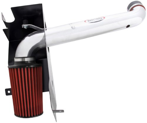 5. AEM 21-8212DP Polished Brute Force Intake System