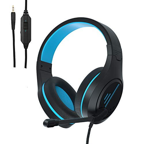Anivia Stereo Gaming Headset for Xbox One PS4 Phones Tablets PC – Anivia MH601 Surround Sound Over-Ear Headphones with…