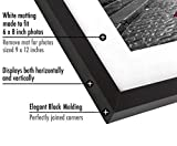 Americanflat Picture Frame in Black Wood with