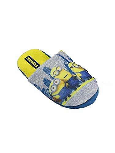 Minions - Zapatillas de estar por casa para niño multicolor * * gris