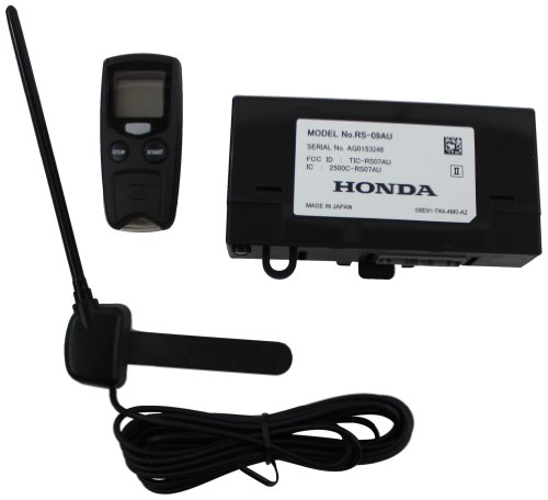 Genuine Honda Accessories 08E91-E22-101A Remote Engine - Engine Install Remote Starter