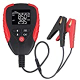 LEYUTUEE Digital Battery Load Tester Analyzes 12V Automotive Car Load Battery Tester | Voltage, Capacity% Life, Resistance, Cranking Amps | Amp Hours (AH)