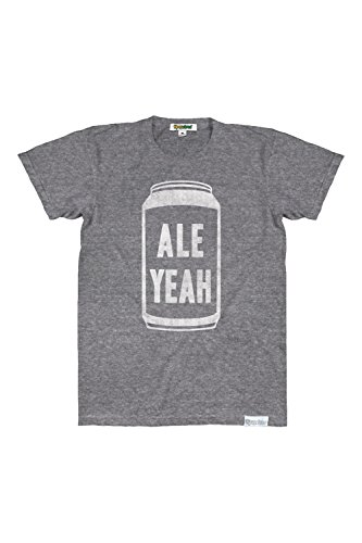 TipsyElves Men's Ale Yeah Tee Shirt - Funny Beer Shirts for Summer: Size X-Large