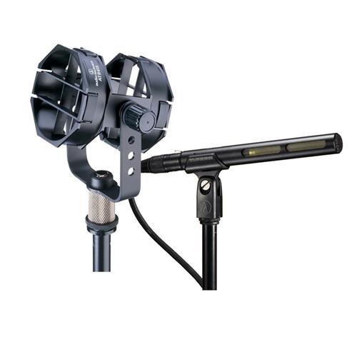Audio Technica Short Shotgun Microphone with AT8415 Universal Shock Mount