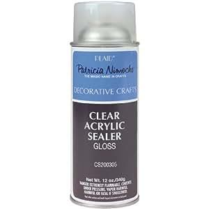 Plaid Patricia Nimocks Clear Acrylic Sealer (12-Ounce), CS200305 Gloss