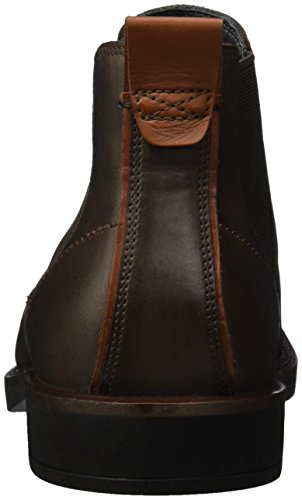 Mahogany Biarritz ECCO Men's Boots Brown Chelsea Coffee TvqRwqBH